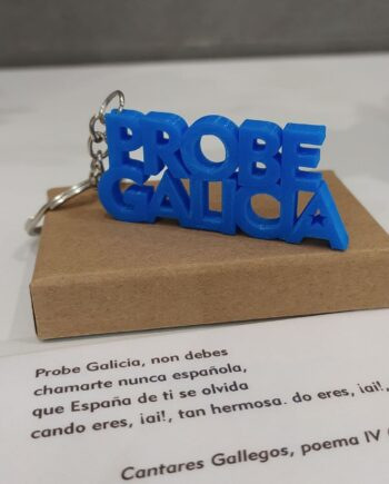 Chaveiro Probe Galicia I3D