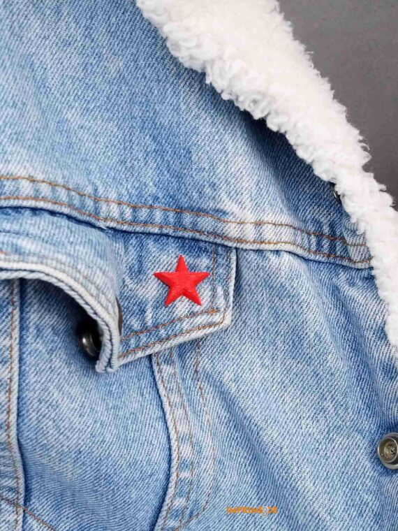 PIN Estrela Vermella