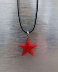 Colar Estrela Vermelha I3D