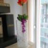 Sujeta flor decorativo I3D