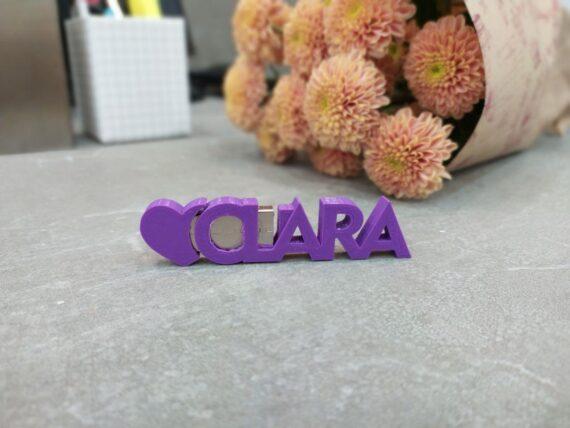 Pendrive Personalizado Clara I3D