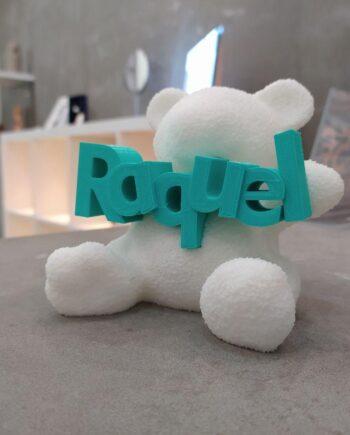 Figura Oso Baby Personalizado I3D