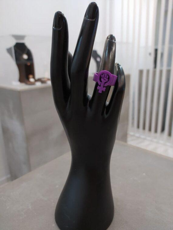 Anillo Woman Power I3D