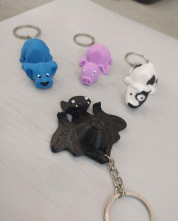Llaveros Portamóvil Animalitos I3D