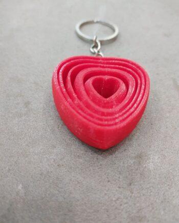 Llavero Corazón I3D