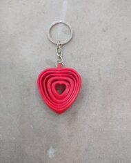 Chaveiro Corazón Vermello FRONT2